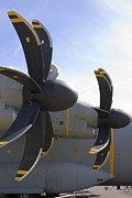 Technical Photo Posters - Aircraft Propellers Poster by Mark Williamson