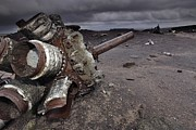 Rhythm And Blues Art - Aircraft Wreckage by Robbie Shone