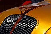 Mopar Photo Metal Prints - Airflow Metal Print by David Pettit