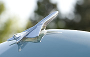 Antique Automobiles Photos - Airplane Hood Ornament by Brian Mollenkopf