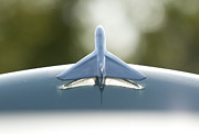 Antique Automobiles Photos - Airplane Hood Ornament II by Brian Mollenkopf