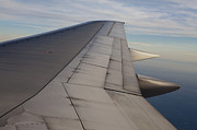 Air Travel Photos - Airplane Wing by Paul Edmondson