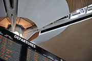 Communication Photos - Airport Departure board by Sami Sarkis