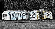 Humbug Photos - Airstream Graffiti by Larry  Depee