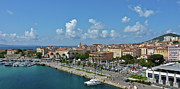 Panoramic Marina Framed Prints - Ajaccio From Port, Corsica, France. Framed Print by Darren Keast