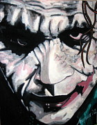 Joker Painting Originals - AKA Joker by Joshua Bloch