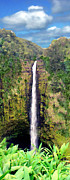 Paradise Prints - Akaka Falls Big Island Hawaii Print by Kurt Van Wagner