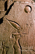 Featured Art - Akhenaton With Sun God by Science Source