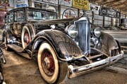 Luxor Prints - Al Capones Car Print by Nicholas  Grunas