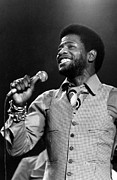 Soul Music Framed Prints - Al Green, 1970s Framed Print by Everett