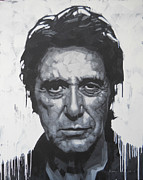 Al Pacino Framed Prints - Al Pacino Framed Print by Jimmy Law