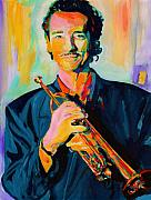 Jazz Band Art - Al Vizzitti by Vel Verrept