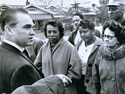African-americans Art - Alabama Gov. George Wallace Talks by Everett