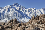 Mount Whitney Prints - Alabama Hills Print by Gary Zuercher