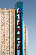 Old Theater Posters - Alameda Movie Theater . Alameda California Poster by Wingsdomain Art and Photography