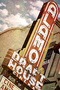 Americana Art Posters - Alamo Draft House Poster by Anthony Ross