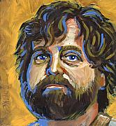 Hollywood Painting Originals - Alan Garner by Buffalo Bonker
