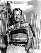 Hands In Pockets Framed Prints - Alan Ladd, Portrait Framed Print by Everett