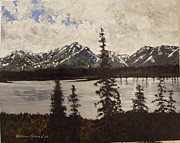 Mckinley Painting Prints - Alaska 2 Print by Sharon  Gonzalez