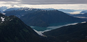Fjord Prints - Alaska Coastal Serenity Print by Mike Reid