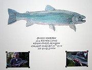 Catch And Release Posters - Alaska Dolly Varden Poster by Quinton Chapman