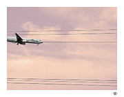 Palm Springs Airport Prints - Alaska Landing Print by Stan Magnan