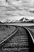 Jason Smith Prints - Alaska Railroad Print by Jason Smith