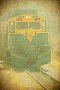 Grungy Originals - Alaska Vintage Gold Rush Train by Sophie Vigneault