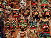 Shotwell Photography Prints - Alaskan Masks Print by Kathi Shotwell