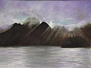 Waterscape Painting Metal Prints - Alaskan Morning Metal Print by Merle Blair