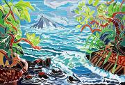 Hana Paintings - Alau Island by Fay Biegun - Printscapes