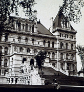 Albany New York - State Capitol Building - C 1903 Print by International  Images