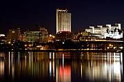 City Hall - Albany On The Hudson by Don Nieman