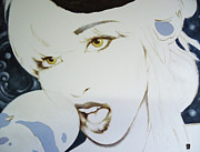 Lady Gaga Paintings - Albaura Lady Gaga  by Lorenzo Fontana ALBAURA