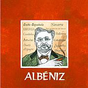 Music Mixed Media Prints - Albeniz Portrait Print by Paul Helm