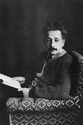 Physicist Prints - Albert Einstein 1879-1955, Photo Ca Print by Everett