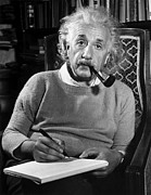 Physicist Photos - Albert Einstein by Granger