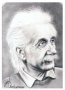 Albert Einstein  Print by Murphy Elliott