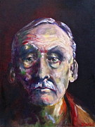 Serial Killer Painting Prints - Albert Fish Print by Diane Daigle