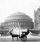 Carriages Posters - Albert Hall in London - England - c 1904 Poster by International  Images