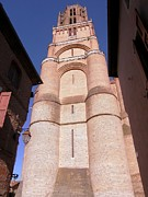 Low Angle View Originals - Albi Cathedral by Sophie Vigneault