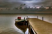 Flooded Prints - Albufera before the rain. Valencia. Spain Print by Juan Carlos Ferro Duque