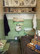 San Francisco Painter Posters - Alcatraz Artists Cell Poster by Daniel Hagerman