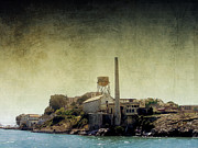 Alcatraz Digital Art Framed Prints - Alcatraz Framed Print by Ellen Lacey