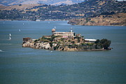 Alcatraz Prints - Alcatraz Island Print by Danielle Groenen