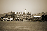 Alcatraz Prints - Alcatraz Island Print by Agrofilms Photography