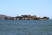 Alcatraz Island Art - Alcatraz Island in San Francisco California . West Side . 7D14007 by Wingsdomain Art and Photography