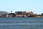 Prisons Photos - Alcatraz Island in San Francisco California . West Side . 7D14031 by Wingsdomain Art and Photography