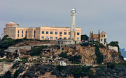 Fbi Prints - Alcatraz Island Lighthouse Print by Tap On Photo