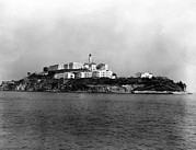 Alcatraz Metal Prints - Alcatraz Island, San Francisco, Circa Metal Print by Everett